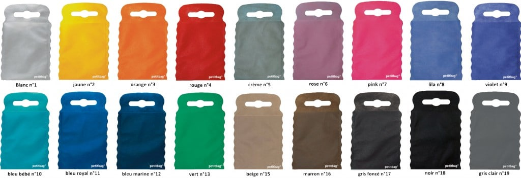 Colorama petitbag 18 couleurs