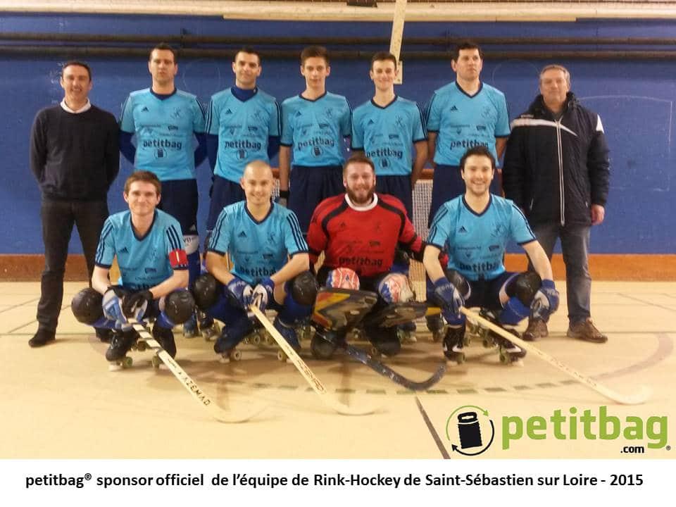 petitbag et club de rink hockey de saint sebastien sur loire